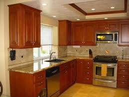 Kitchen Cabinet With Granite Top Cherry Kitchen Cabinets With Granite Countertops Cherry Kitchen