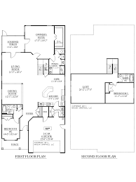 2 Story Home Design Plans House Plan 2755 Woodbridge Floor Plan Traditional 1 1 2 Story