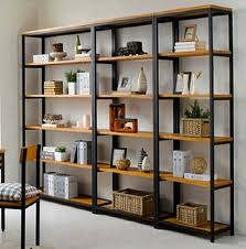 Metal And Wood Bookshelves by Bookshelf Interesting Metal And Wood Bookshelf Captivating Metal
