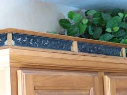 kitchen cabinets top trim kitchen cabinet top moulding galley railing trim pewter copper bronze wrought iron look see through filigree