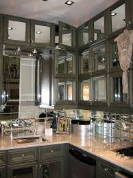 Mirrored Kitchen Backsplash Best Mirrored Backsplashes Images On Mirror Mirrored Backsplash In