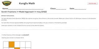 math grade 3 fractions worksheets and resources singapore math