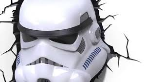 star wars stormtrooper 3d deco light hd youtube