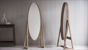 Round Bathroom Mirrors by Furniture Round Decorative Mirror Full Length Dressing Mirror