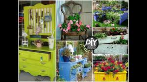 creative ways to reuse old furniture in your garden diy garden