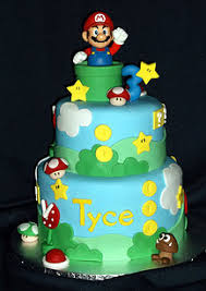 mario cake karens cake shoppe coeur dalene celebration cakes