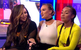 little mix show the one show viewers in uproar as perrie edwards flashes nipples