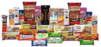 gift baskets for college students healthy care package with 30 sweet savory snacks variety snack
