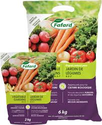 fafardvegetable garden natural fetilizer fafard