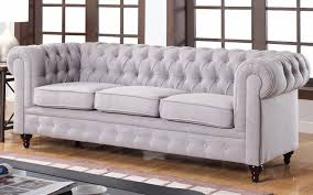grey velvet tufted sofa sofa comfortable living room sofas design with linen couch