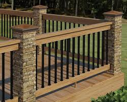 Backyard Deck Prices Kitchen Stylish How To Build A Deck Wood Decking And Railings