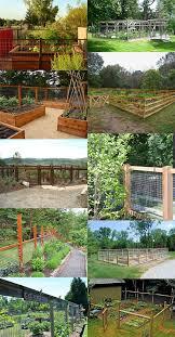 fence ideas for a vegetable garden