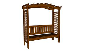 how to build an arbor bench howtospecialist how to build step