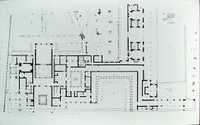 plan villa villa 055 oplontis villa of poppea plan