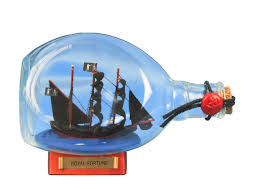 model boats and ships in a bottle boats in glass bottles pirate