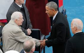 can obama live up to carter u0027s gold standard as ex president the