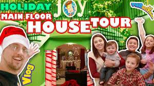 christmas house tour 3 0 main floor magical holiday fun
