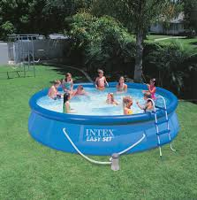 Outdoor Pool Furniture by Furniture Walmart Inflatable Pool In Blue With Ladder For Outdoor