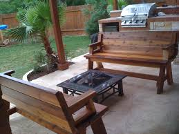 exterior inspiring patio decor ideas with costco pit