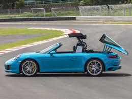 miami blue porsche porsche 911 991 ii turbo c4 targa and cabriolet pistonheads