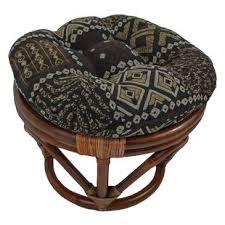 papasan stool cushions wayfair