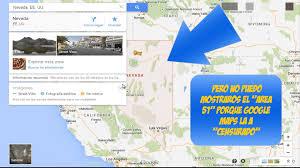 Google Maps Area 51 Donde Esta El