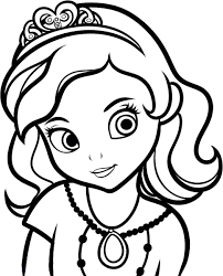 coloring page php beautiful princess sofia coloring pages