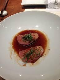 mignonette cuisine hamachi sashimi mignonette basil fried shallot