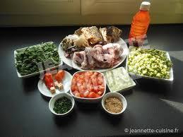 cuisiner patates douces sauce feuilles de patates douces au gombo et huile plat