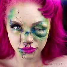 instagram insta glam halloween makeup halloween makeup 80 best glam and gore mykie images on pinterest fx makeup