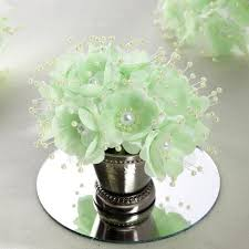 mint green corsage 72 pack faux pearl decor mint flower braids corsage boutonniere
