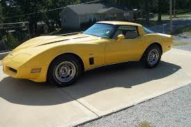 1980 corvette for sale yellow 1980 chevrolet corvette for sale mcg marketplace