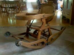 Wooden High Chair For Sale Antique High Chair Homeca