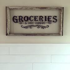 signs and decor kitchen wood signs decor wood window painted to look like a