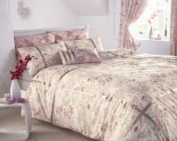 Red Duvet Set Bedding Donna Daisy Floral Polkadots Red Green Beige Duvet Cover