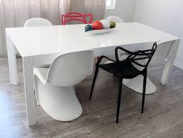 set of 4 designer modern masters dining chair in black