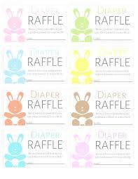 printable diaper template diaper raffle tickets template free raffle tickets to print 6 free