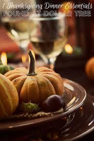 thanksgiving dinner essentials found at dollar tree