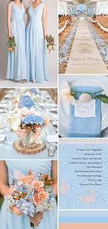 blue wedding silver and baby blue wedding theme