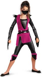 girls dark ninja kids costume mr costumes