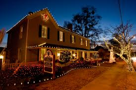 Best Outdoor Christmas Decorations by Holiday Decorations Professional Christmas Lights Installation