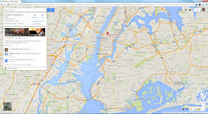New York On The Map by Website Design And Development New Google Maps Integration With