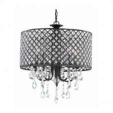 How To Make A Beaded Chandelier Chandelier With Shades And Crystals Foter