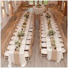 wedding reception tables 18 table runners that will transform your wedding table