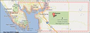 punta gorda fl map county florida map
