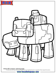 coloring pages minecraft pig coloring pages minecraft pig ideascollider for minecraft creeper