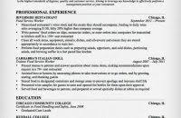 Restaurant Server Resume Sample by Download Server Resume Sample Haadyaooverbayresort Com
