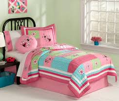 Green Bedding For Girls by Busy Ladybug Bedding For Girls Twin Size 2pc Quilt Set Pink