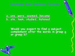 identify sentence pattern english grammar reviewing basic sentence patterns ppt download