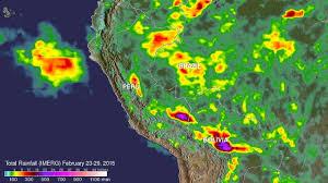 Peru On Map Imerg Measures Flooding Rainfall In Peru Nasa